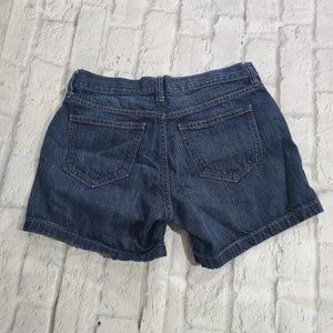 Old Navy Shorts 4 Dark Wash Low Rise The Flirt
